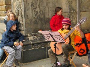לימוד גיטרה לילדים
